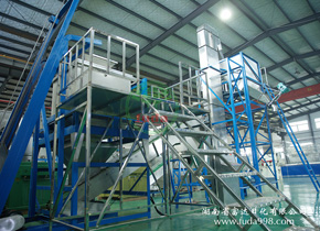 洗衣粉生产线 XJ600-2