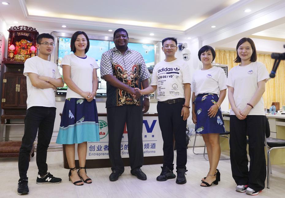 尼日利亚客户成功和我们公司签约合作香皂肥皂betway必威体育